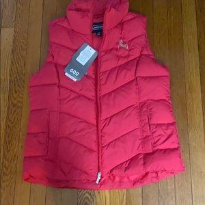 Down vest jacket from lands end